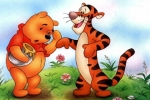 Winnie The Pooh And Tigger Jigsaw Puzzle
