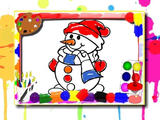 Winter Coloring Book