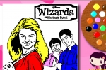 Wizards Of Waverly Place Disney Coloring