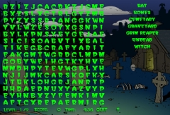 Wordsearch: Halloween