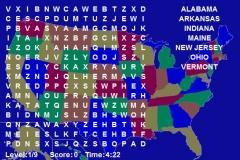 Wordsearch: U.S. States