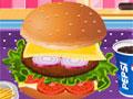 Yummy Hamburger Cooking