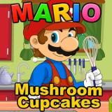 Mario Mushroom Cupcake