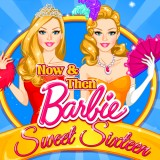 Now & Then Barbie Sweet Sixteen