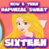 Now & Then Rapunzel Sweet Sixteen