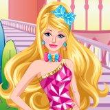 Princess Barbie Facial Makeover
