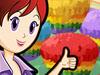 Rainbow Muffins: Sara