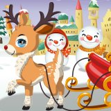 Reindeer Christmas Dress up