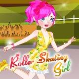 Roller Skating Girl