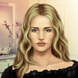 Rosie Huntington True Make up