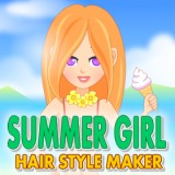 Summer Girl Hair Style Maker