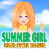 Summer Girl Hair Style Maker
