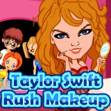Taylor Swift Rush Makeup