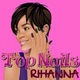 Top Nails with Rihanna