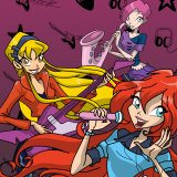 Winx Club Rock Star: Coloring
