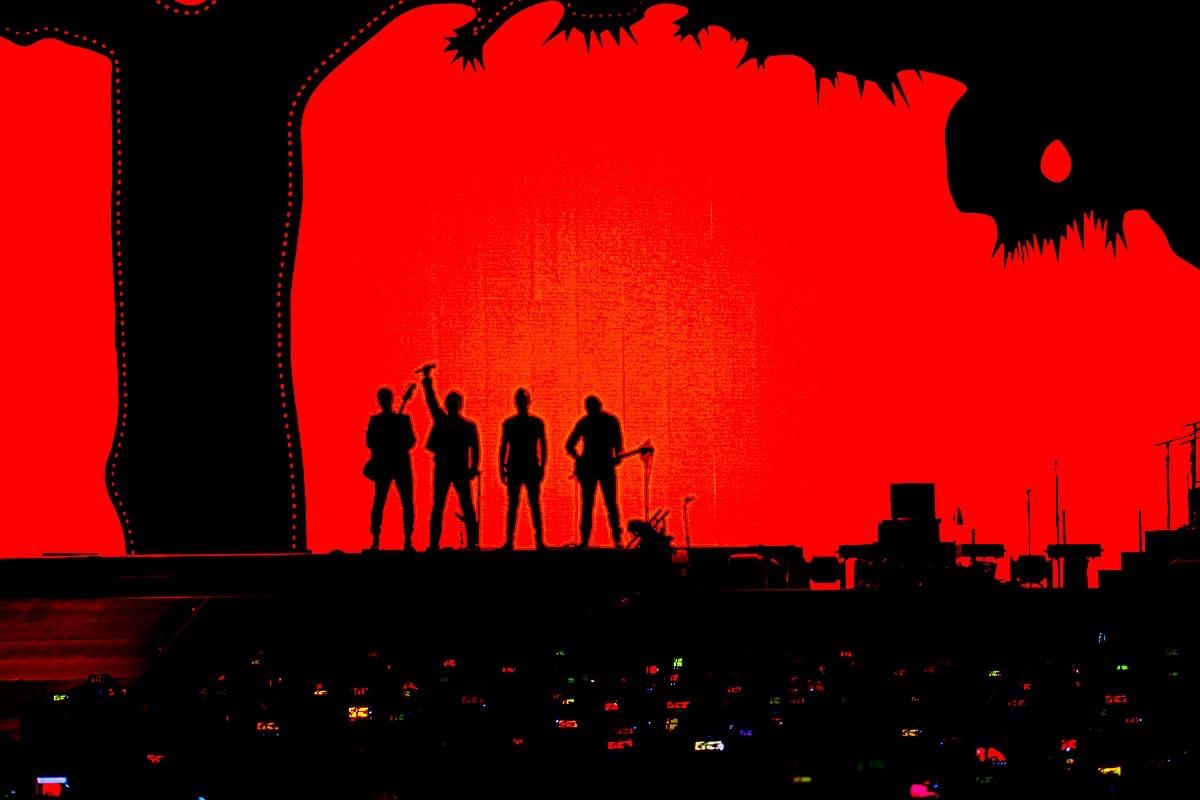 U2 @ The Rose Bowl