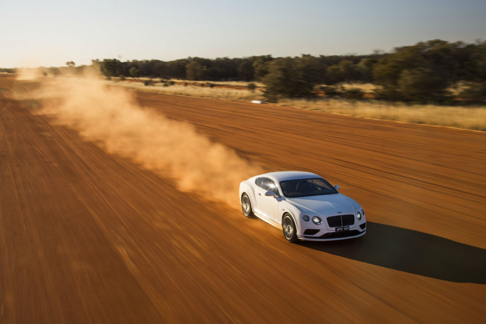 Bentley Continental GT Speed- Vmax in the outback (4)