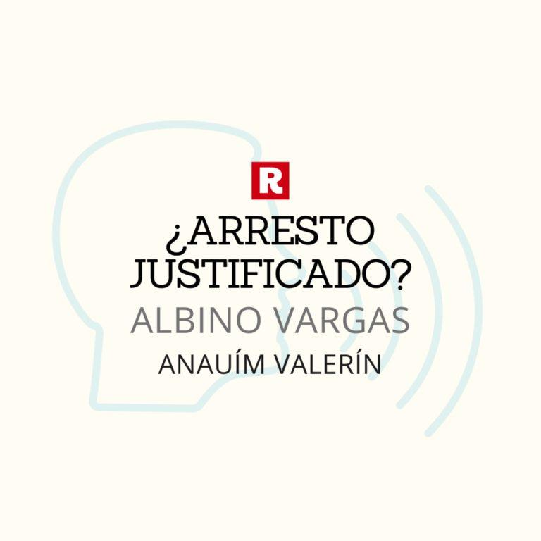 Detención Albino Vargas