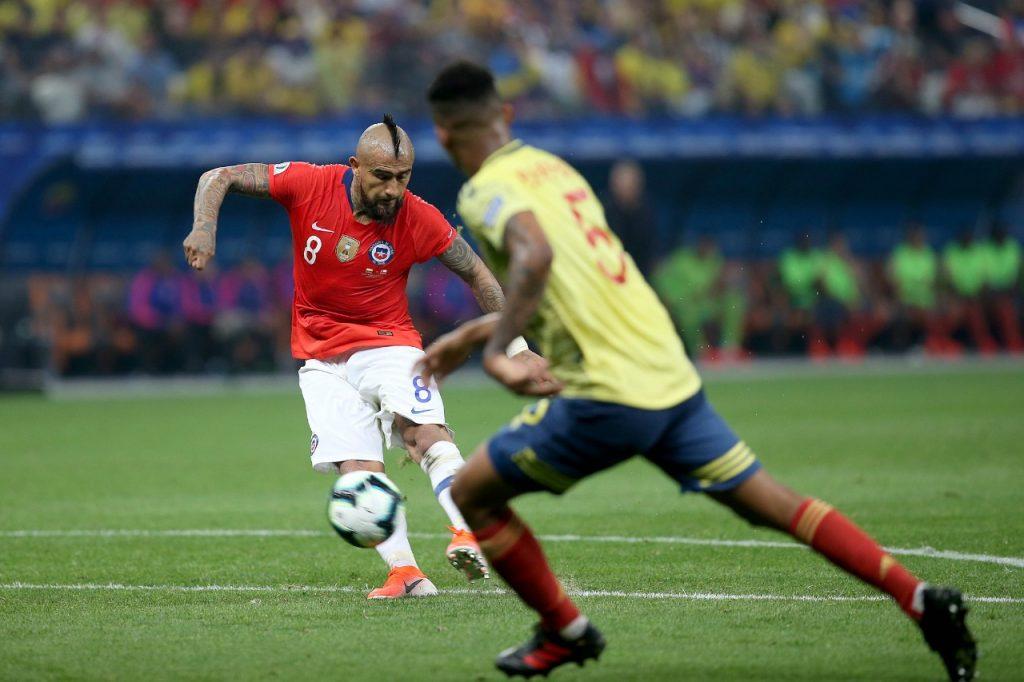Arturo Vidal Chile Colombia Copa América