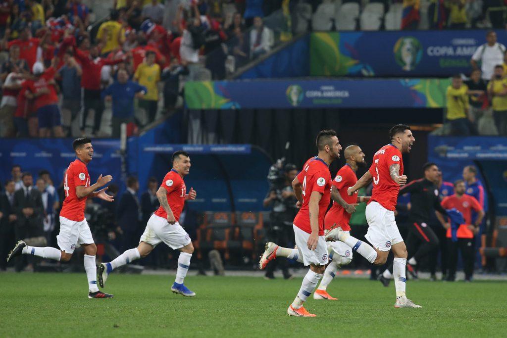 Chile Copa América Perú Colombia