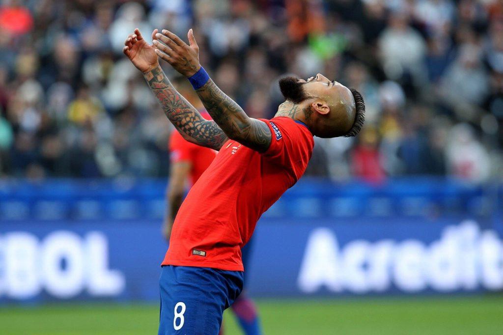 Arturo Vidal Chile Copa América