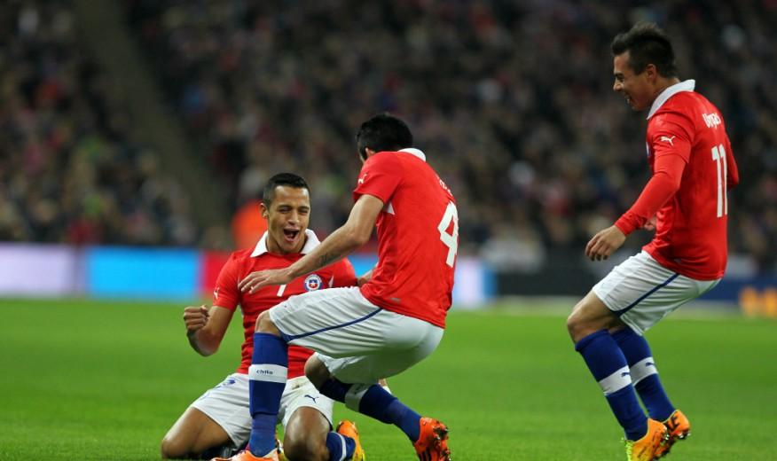 Chile Inglaterra 2013