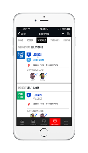 Mobile App   St. Gertrude Athletic Boosters