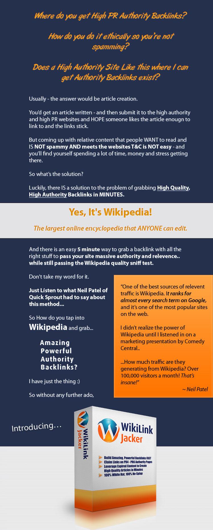 WikiLink Jacker Pro 1.03
