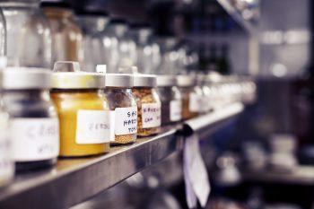 jars on a shelf image