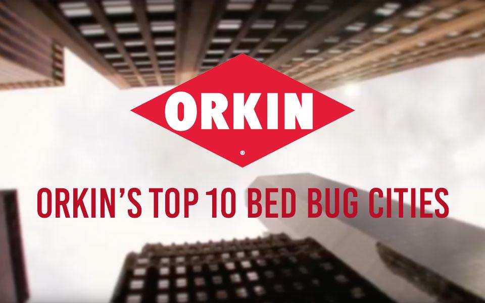 Sleep Tight Orkin S 2018 Top Bed Bug Cities