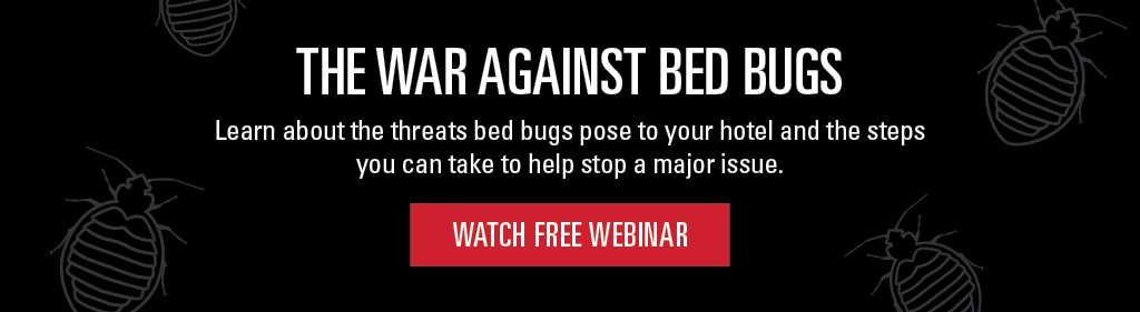 Hospitality Bed Bug Webinar Banner