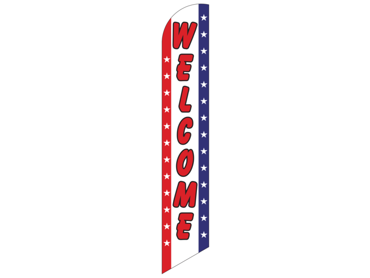 Feather welcome stars