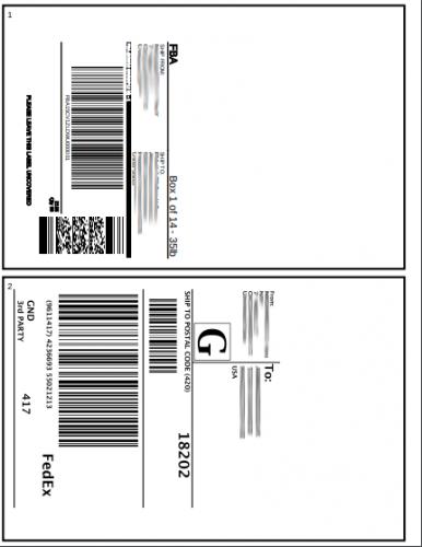 Streamline your Amazon FBA restocking process using a PDF label