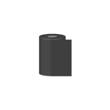 "2.09"" x 1,181' Datamax Wax Thermal Transfer Ribbons"