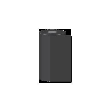 """2.52"""" x 1,345' Sato Wax Thermal Transfer Ribbons"""