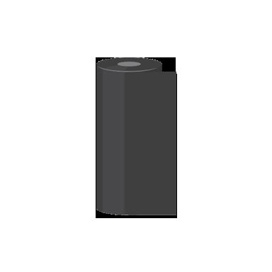 "6.5"" x 1,476' Zebra Wax Thermal Transfer Ribbons"