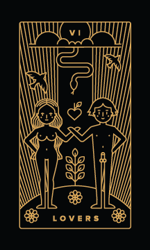 The Lovers - Best Love Tarot Cards to Get in a Tarot Reading