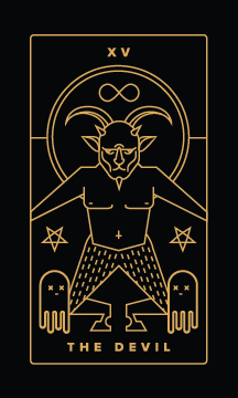 The Devil - Best Love Tarot Cards to Get in a Tarot Reading