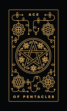 ace of pentacles - Best Money Tarot Cards to Get in a Tarot Reading
