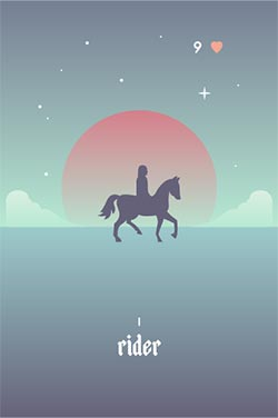 The Rider - Best Love Lenormand Cards to Get in a Lenormand Reading