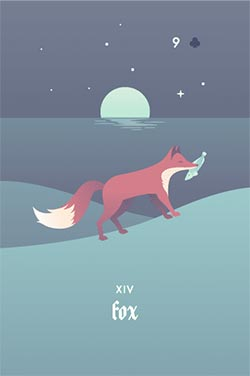 The Fox - Negative Love Lenormand Cards to Get in a Lenormand Reading