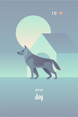 The Dog - Best Love Lenormand Cards to Get in a Lenormand Reading