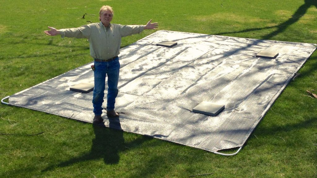 The Boatlift Mat distributes the weight of your lift and boat over a larger area — plus it locks soft, mucky soil in place, preventing your lift from sinking.