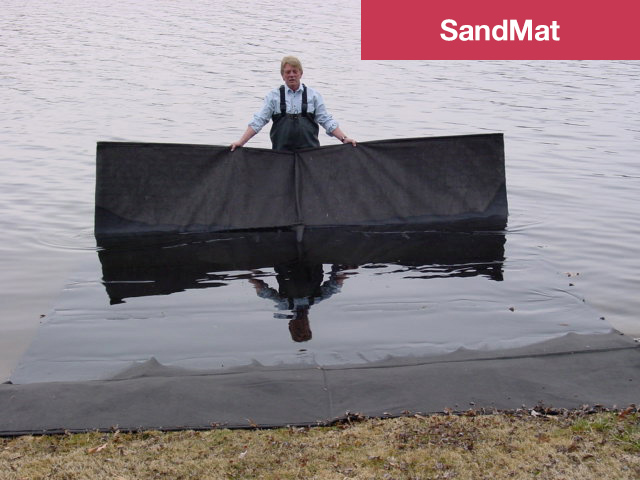 SandMats are best used as a base on shore, or from shore into shallow water.