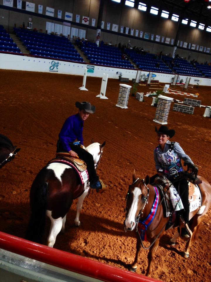 Carly veldman parks at the apha world show 1