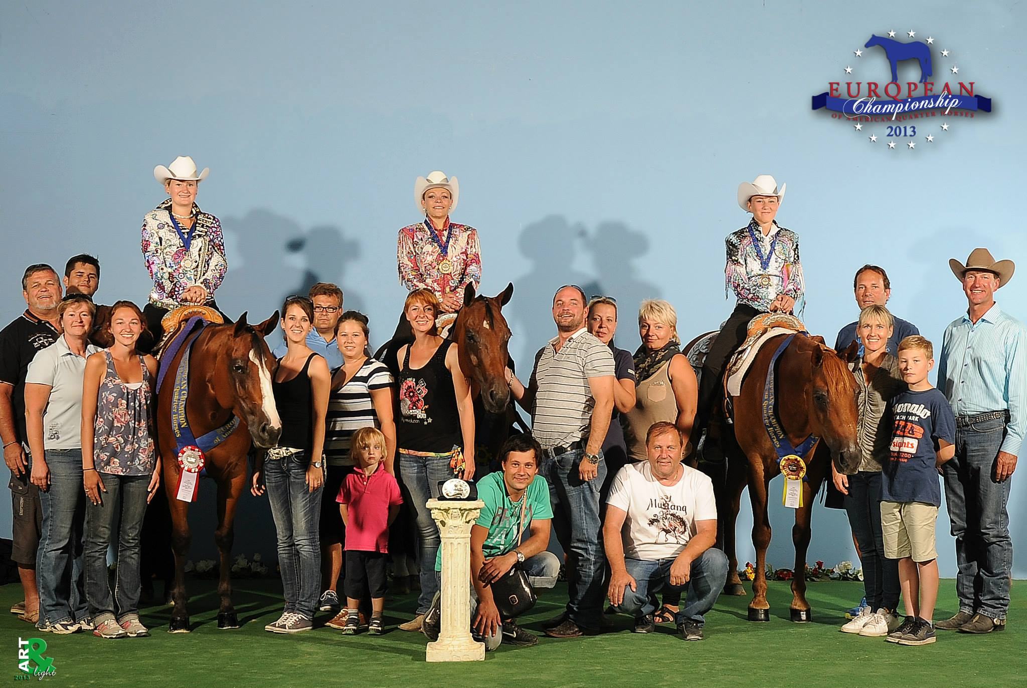 Youth pleasure medals at the 2013 european championships 0