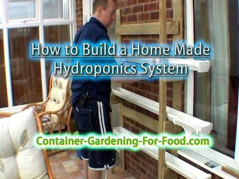 How to Build a Home Made Hydroponics System