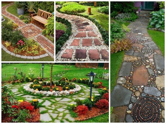 30 Design Ideas for Beautiful Garden Paths  – DIY