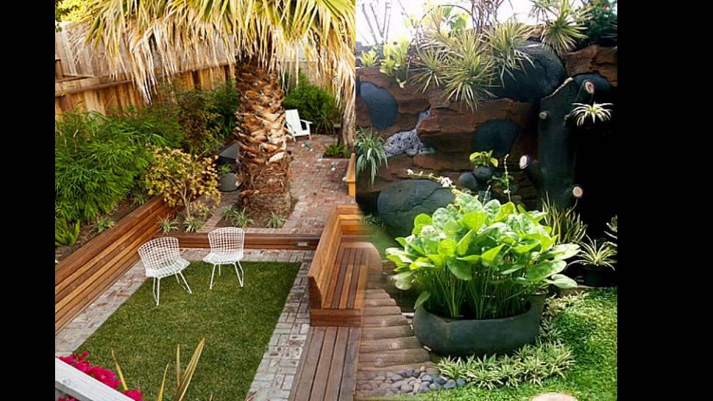 Backyard small home garden ideas