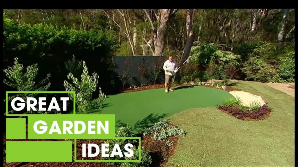 Make Your Own DIY Putting Green | Gardening | Great Home Ideas